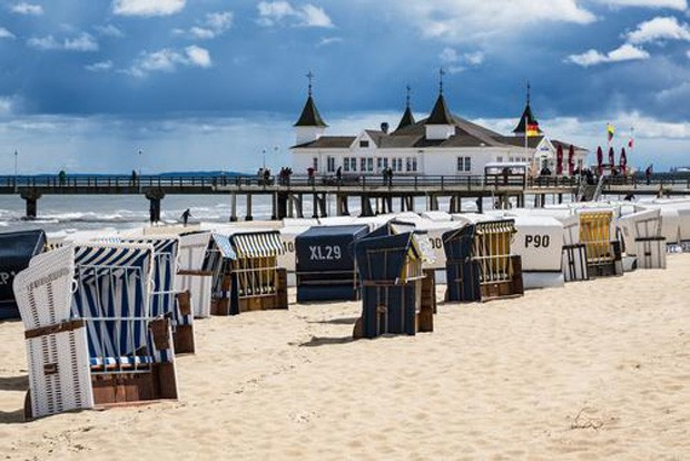 Pier in ahlbeck usedom