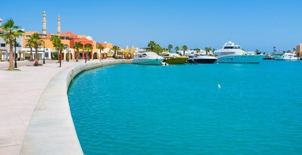 Hurghada meer