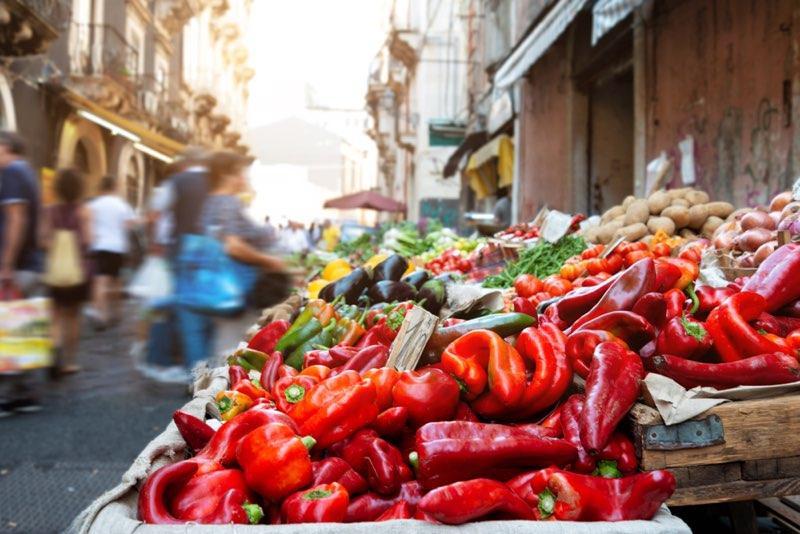 Catania markt