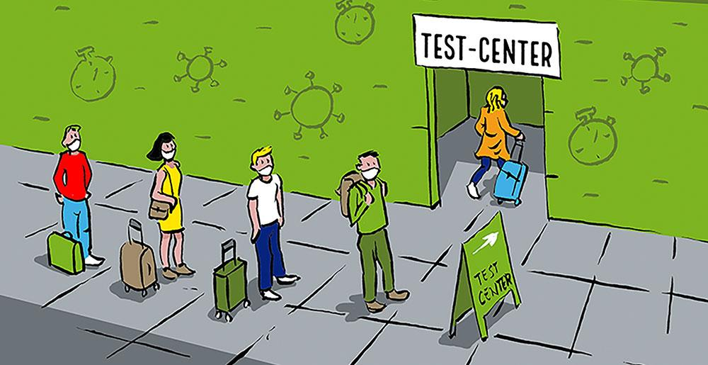 Testzentren zielflughaefen dortmund airport