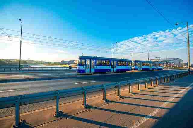 Strassenbahn in krakau