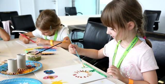 Charity-Familientag: Kleine Kunstwerke
