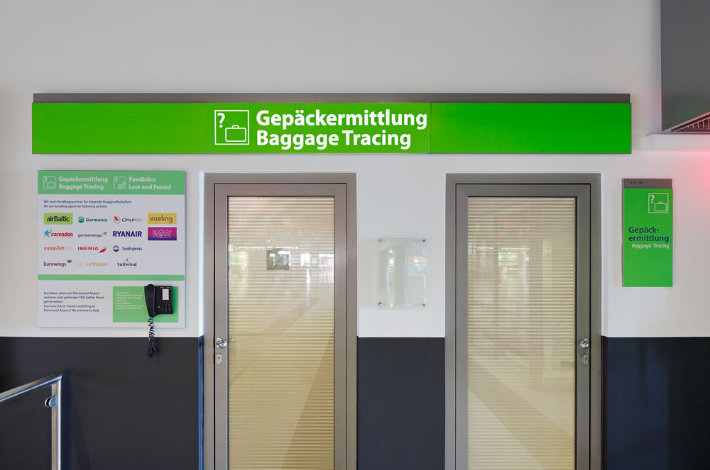 Fundbuero lost and found dortmund airport