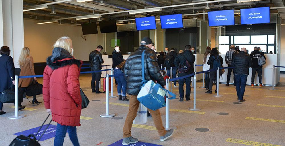Neue passkontrolle dortmund airport