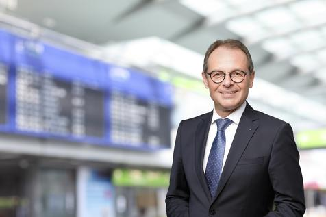 Press Photo of Udo Mager, Airport Managing Director
