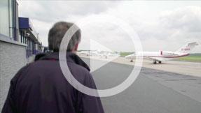 Dortmund airport gat rundgang