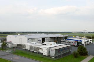 Der   Cargo-Service des Dortmund Airport