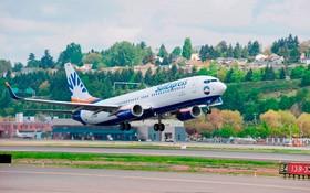 Startendes Flugzeug   von SunExpress