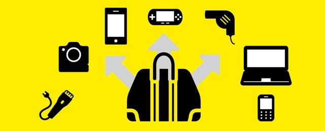 Geaenderte handgepaeckregelung elektrische geraete