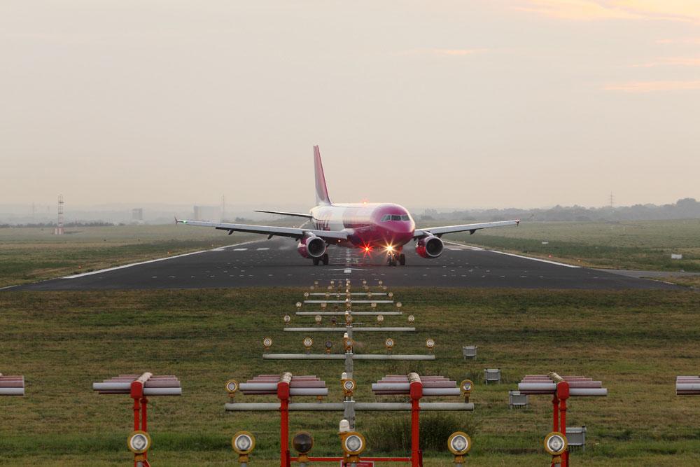 Instrumentenlandesystem am dortmund airport