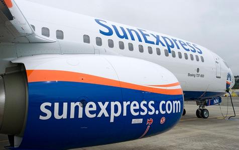 Boing 737-800 von SunExpress