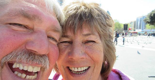 Die Barcelona-Checker Rainer und Renate Mahnke