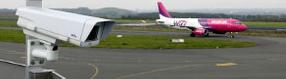 Die Webcam am   Vorfeld des Dortmund Airport