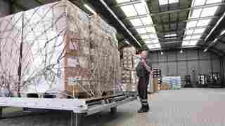 Cargo luftfracht handling