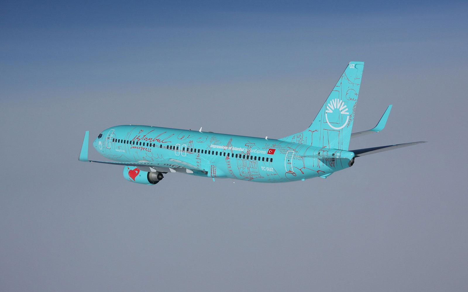Sunexpress Flug Buchen Und Infos Zur Airline Dortmund