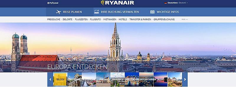 Ryanair portal