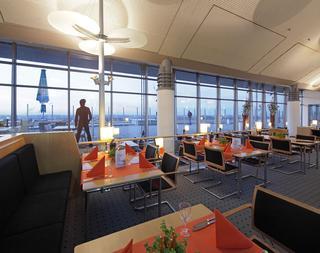 Restaurant Bella   Vista im Terminalgebäude des Dortmund Airport