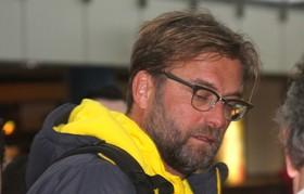 Jürgen Klopp am Dortmund Airport