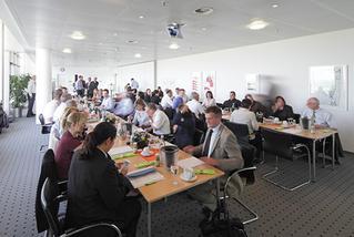Innenaufnahme eines   Konferenzraumes am Dortmund Airport