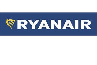 Logo der   Fluggesellschaft Ryanair