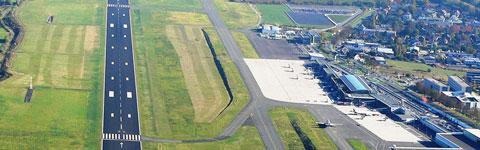 Dortmund Airport aus der Luft
