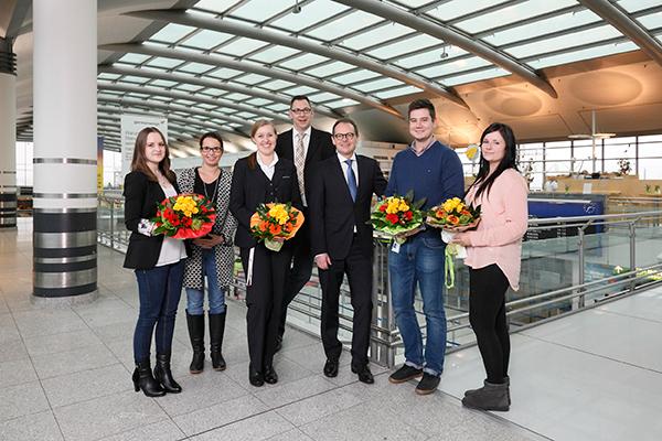 Flughafen azubis erfolgreich dtm 26 01 2015