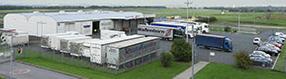 Das Logistikzentrum   am Dortmund Airport