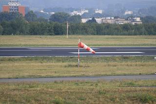 Windrichtungsanzeiger an der Start- und Landebahn