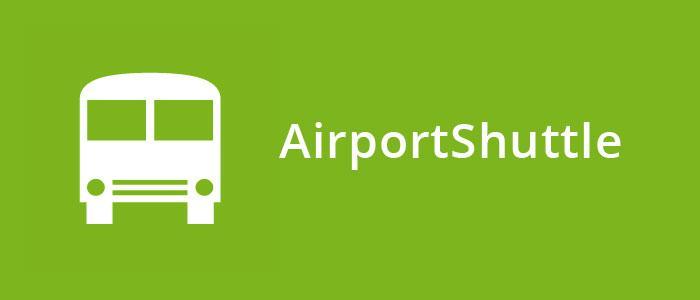 Airportshuttle hinweis