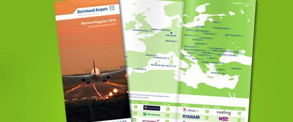 Dortmund airport sommerflugplan 2015 news1
