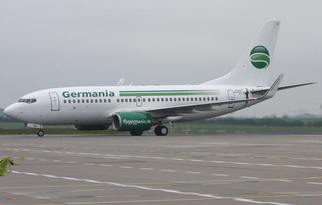 Boing 737-700 von   Germania
