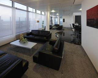 Die Lounge am   Dortmund Airport