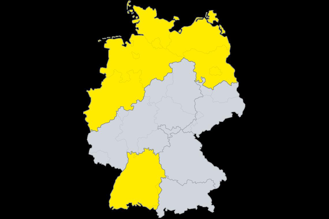 SAKRET Bausysteme Region in Deutschland