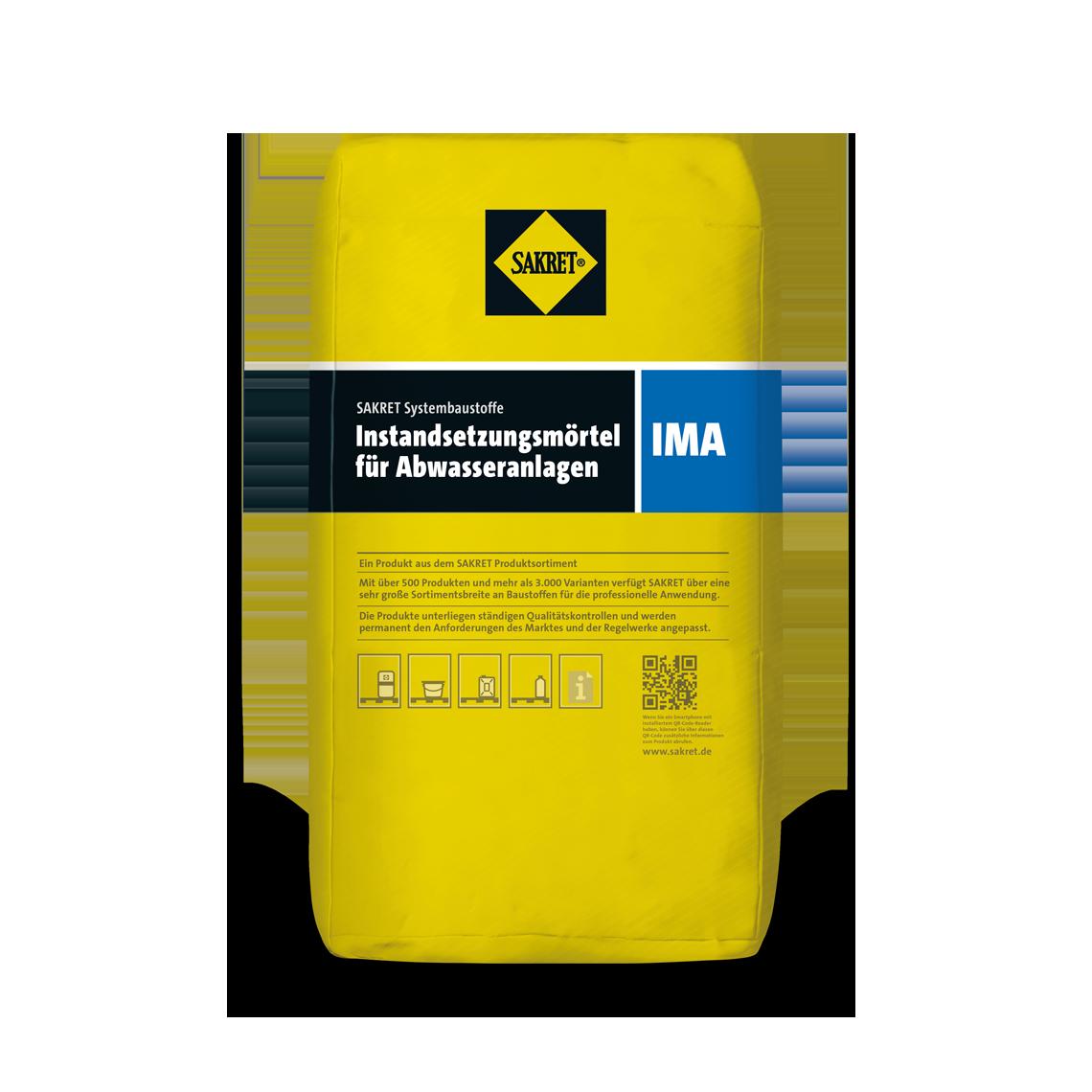 Abbildung SAKRET Instandsetzungsmörtel Abwasseranlagen IMA