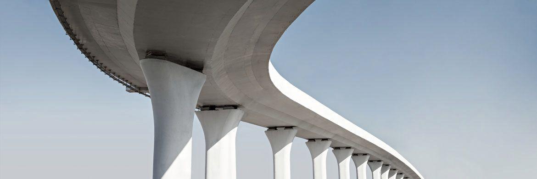 SAKRET Systeme Betoninstandsetzung Hochbrücke