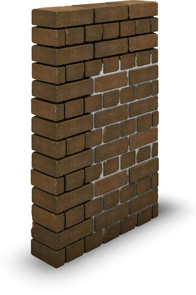 Der Schichtaufbau für die Fugensanierung am Mauerwerk.