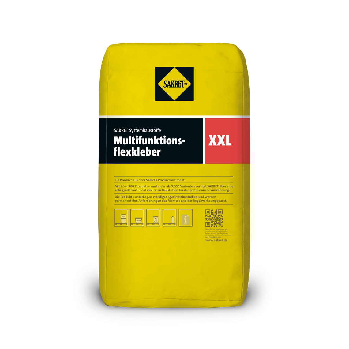 Abbildung SAKRET Multifunktionsflexkleber XXL