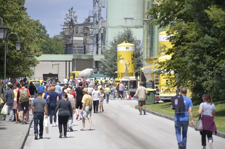 SAKRET München Firmenjubiläum 2018 - Publikum