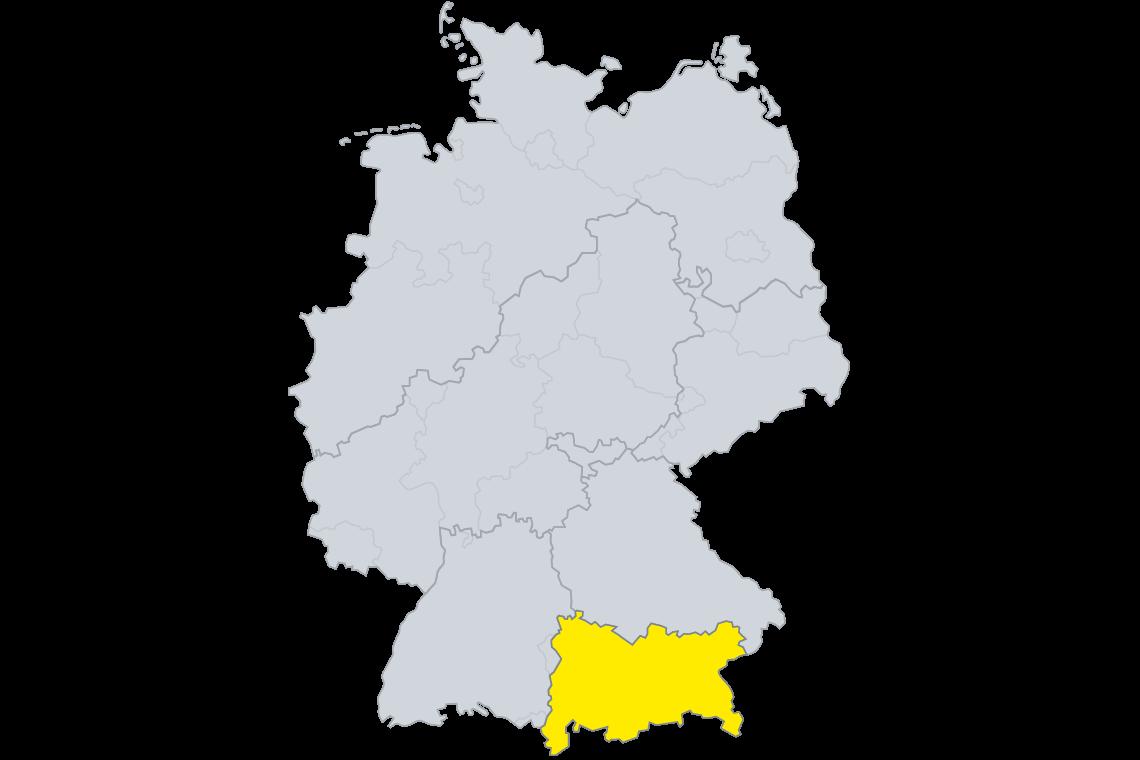 SAKRET München Lizenzgebiet