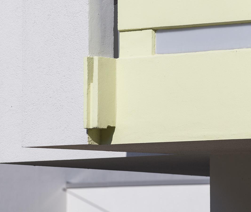 SAKRET Referenz Fassadensanierung WDVS Braunschweig Balkon