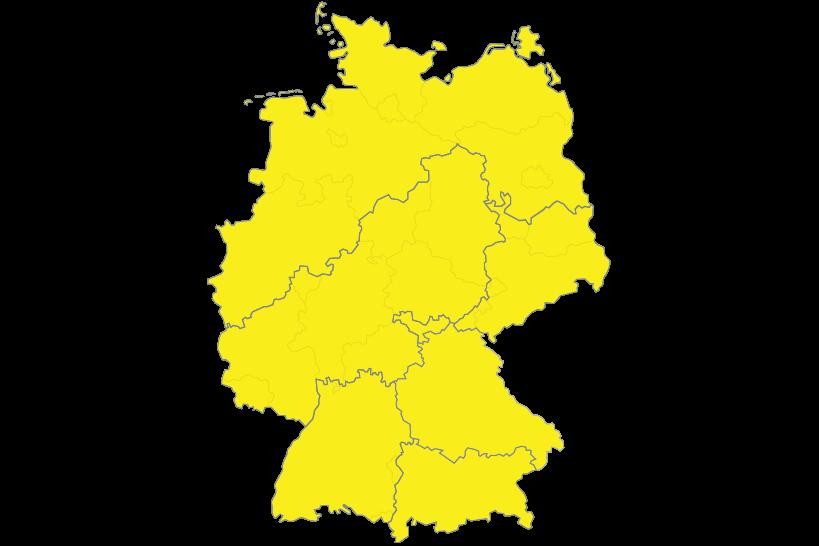 SAKRET Geschäftsgebiete Deutschland