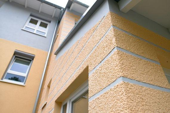 Energetische Sanierung WDVS aufdoppeln | unterer Teil Treppen