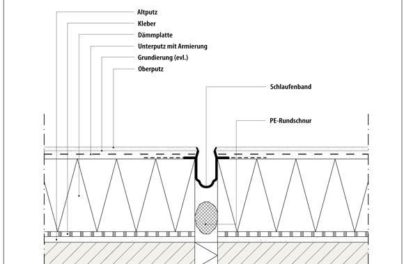 technische Zeichnung von einer Fuge