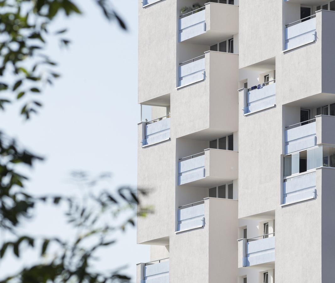 SAKRET Referenz Fassadensanierung WDVS Braunschweig mittig
