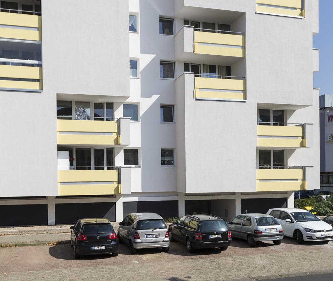 SAKRET Referenz Fassadensanierung Braunschweig WDVS unten