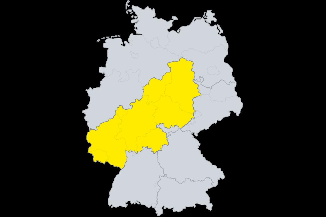 Lizenzgebiet SAKRET GmbH