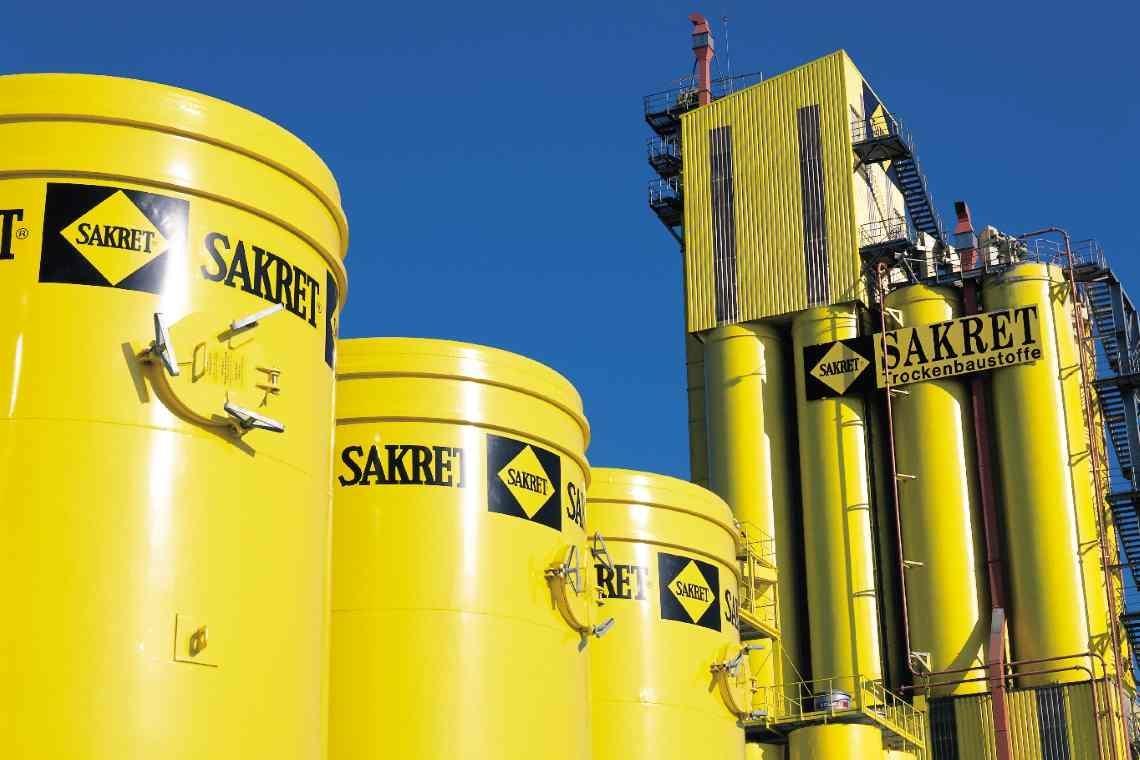 Werk SAKRET GmbH in Nordhausen