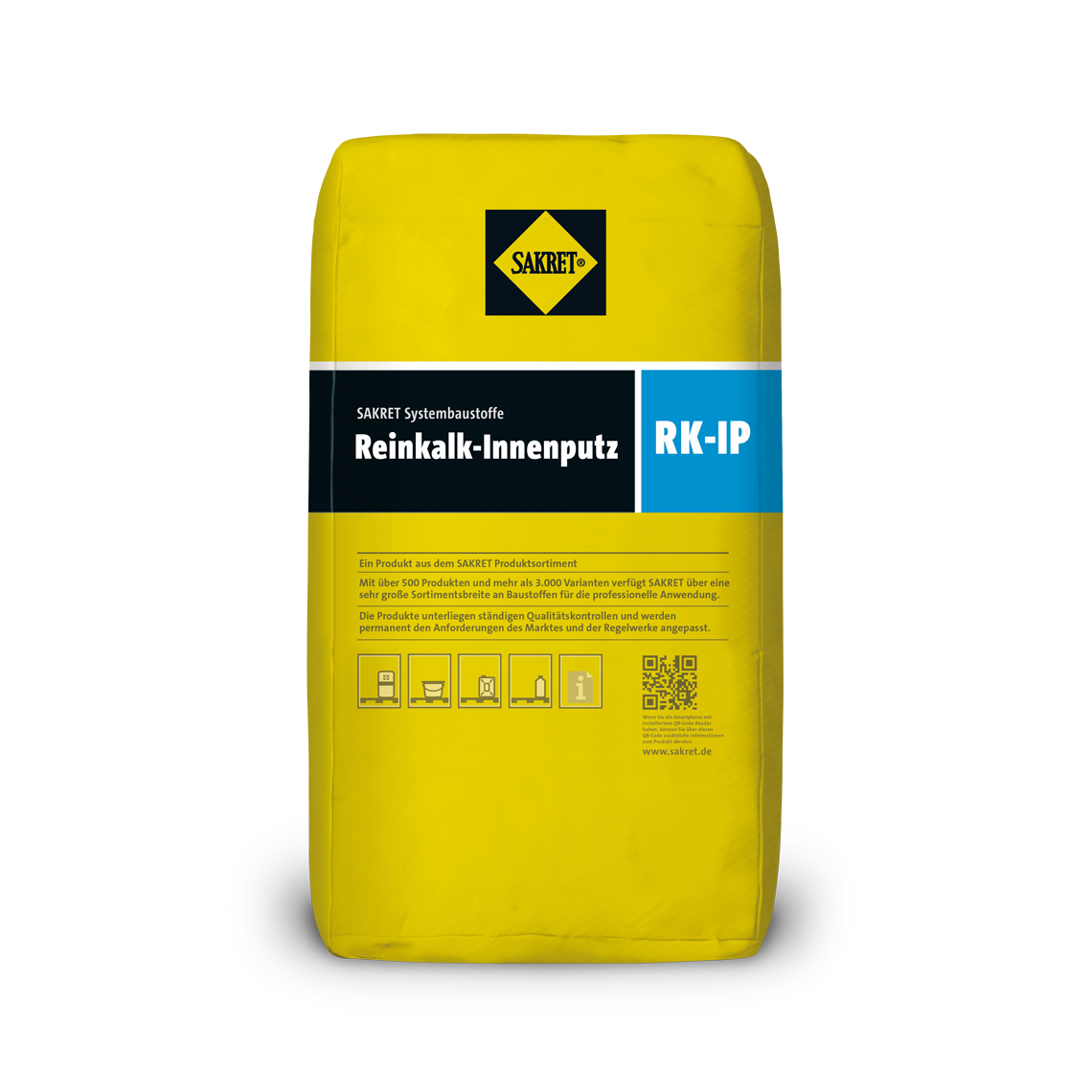 Abbildung SAKRET Reinkalk-Innenputz RK-IP