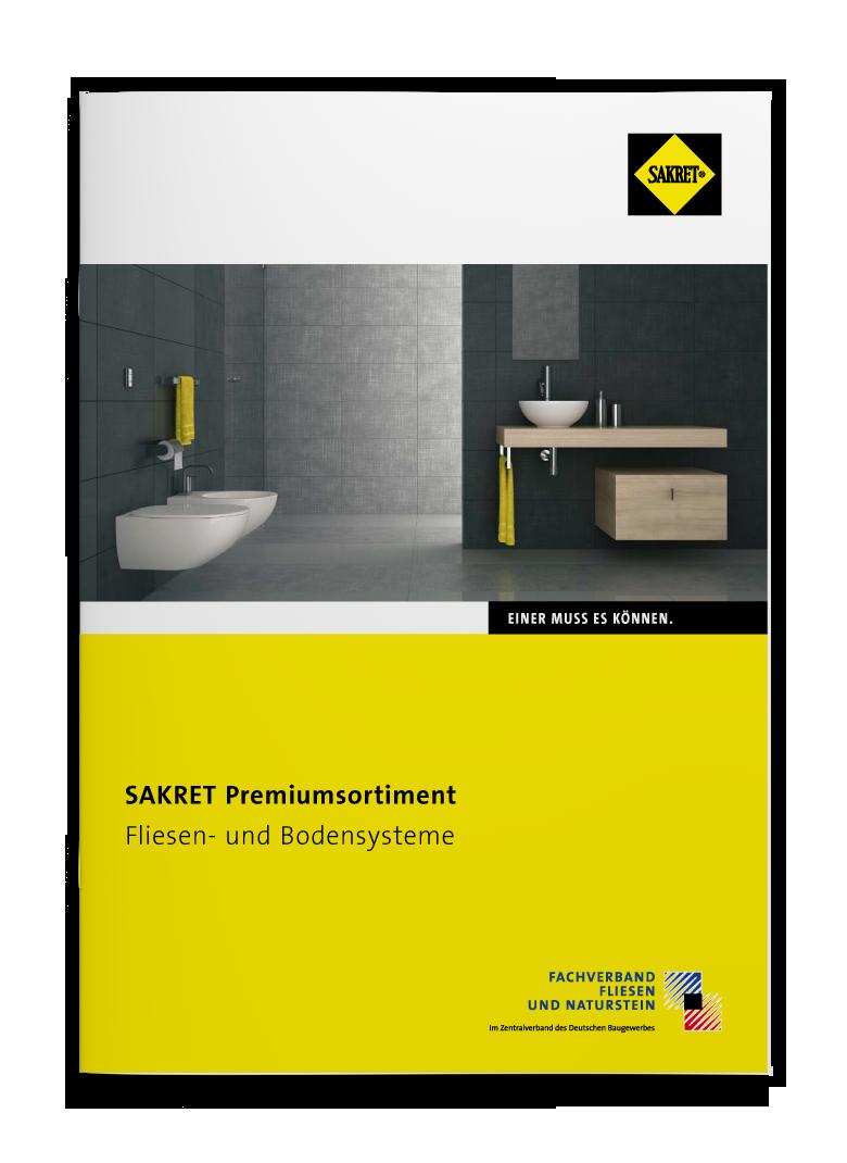 SAKRET Lieferprogramm Fliesen- und Plattensysteme