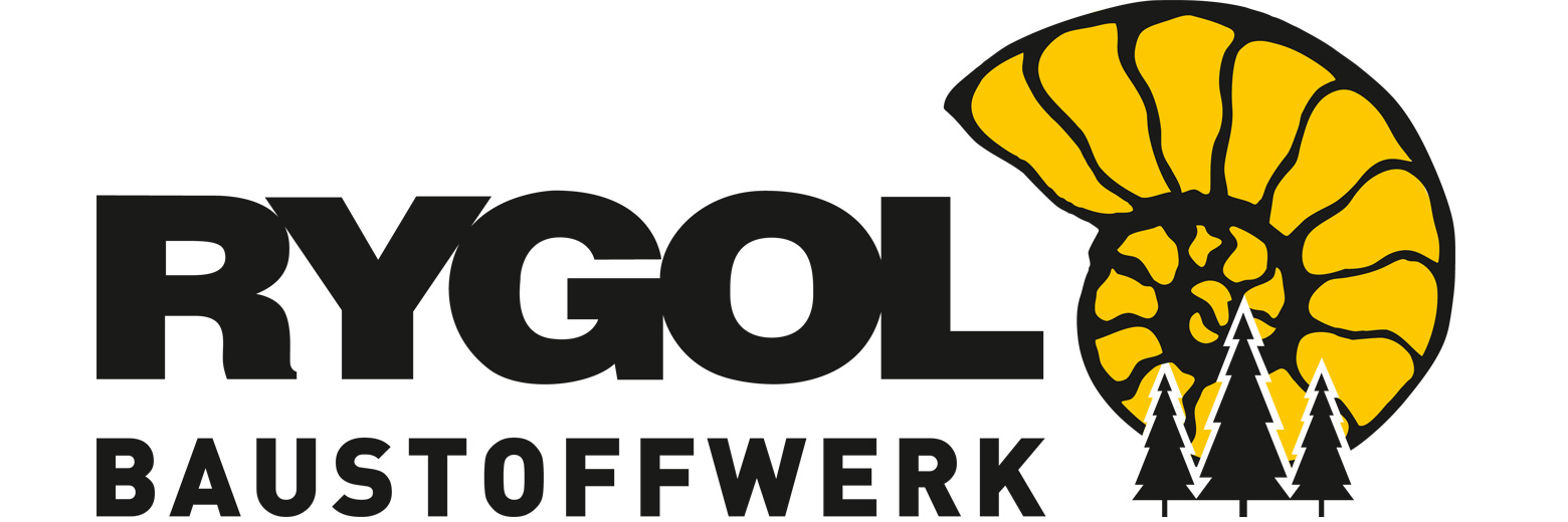 SAKRET RYGOL Baustoffwerk Logo